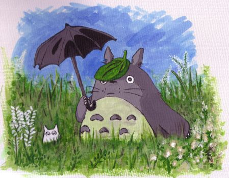Totoro by Naomeart
