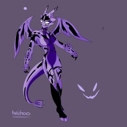 Purple Symbiote by thetwinsisters