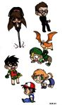Random Chibi Boys by kittypretzels15