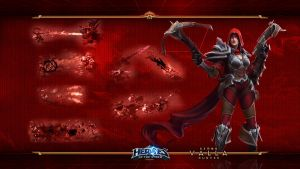 HotS#10: Valla: Demon Hunter by Holyknight3000