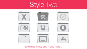 Stock Folder Icons Style Two by hamzasaleem