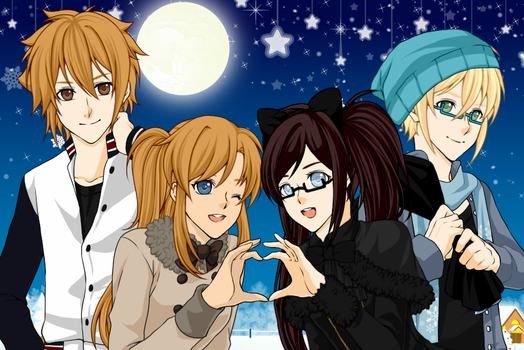 A Christmas With Le Gang ^u^ by AmeliaLovesGaming