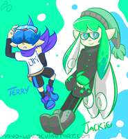 Gift: Jackie and Terry by Mano-Lon