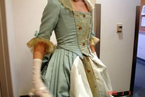 18th Century Gown: Bodice by catnik