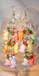Spore Inspired 'Cell Stage' Earrings by Entorien