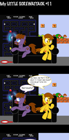 My LittleScrew Attack #11 by Sonic-chaos