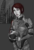Lucy Shepard by nelipoth