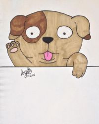 .:Puppy 2:. by Anemic-Artist