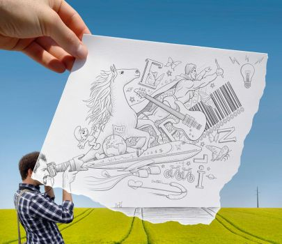 Pencil Vs Camera - 30 by BenHeine