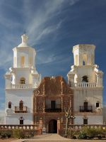 San Xavier del Bac Mission by papatheo