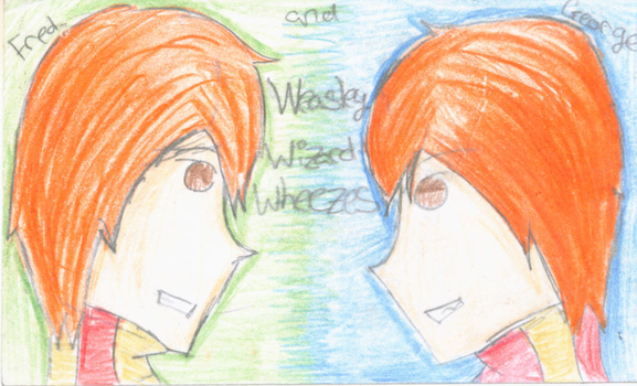 Happy Birthday to the Weasly Twins by Infinity1028