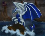 Dark tide - Dragon Lugia by sammacha