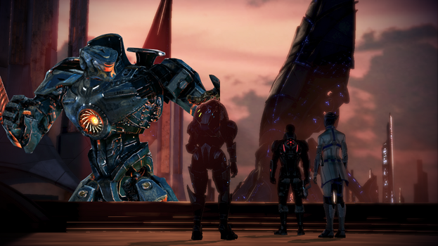 How Mass Effect 3 Really Should Have Ended by Schlorgan