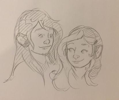 Young Garret and Molly by Jaymzeecat