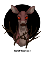 doe/of/deadwood by JiiBee