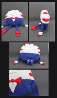 Peppermint Butler Plushie by NsomniacArtist