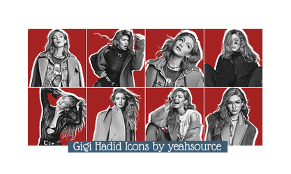 +Gigi Hadid Icons by oursheartsps