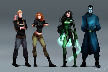 All Grown Up: Kim Possible by IsaiahStephens