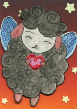 sheep fairy by Cleo-Azimuth