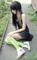 Invader Zim shoes by ViviBunnyCore