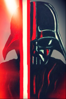 Red Light of the Saber by MintMcCloud