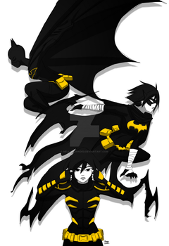Cassandra Cain: Reborn by mell0w-m1nded