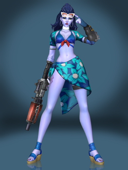 Widowmaker (Cote d'Azur) by Sticklove