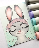 +Judy Hopps ACEO - Zootopia+ by madhouse-arts