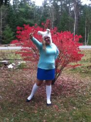 Fionna cosplay!! by WoonaTheAdorable