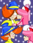 Geno good luck kiss by CathyMouse2010