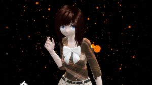 My self model, MMD by Hack-Girl