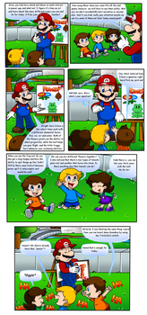 Mario Kids: Power Talk by Nintendrawer