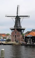 Dutch Windmill 4 stock pack sample by dierat-stock