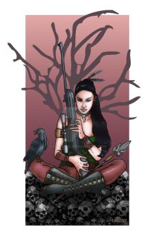 Scion of Morrigan by Syreene