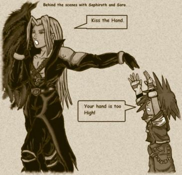 Sephiroth and Sora by Cynthia85