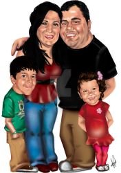 Caricatura Digital by Jessica-Guedes