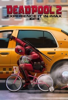 Official Deadpool 2 IMAX Poster by Artlover67