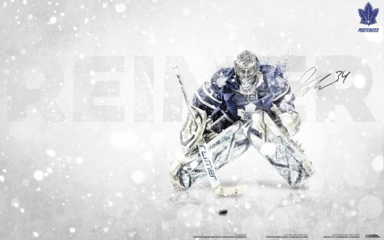 James Reimer - NHL Goalie Series by D-Ejkiewicz