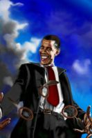 The Obamanible Yes We Can Man by jasingdreams