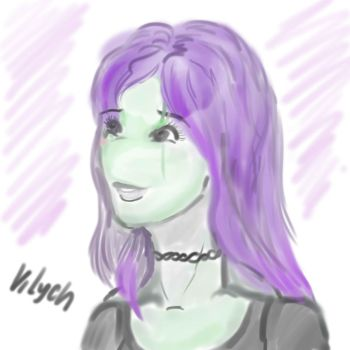 First drawing in SAI by VilychIris