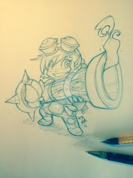 Tristana Sketch by FEDsART