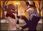 Coffee for Two by LittleRavine