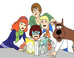 Scooby Doo and the Gang Read Homestuck by briantis