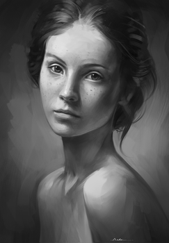 Portrait Practice by AaronGriffinArt