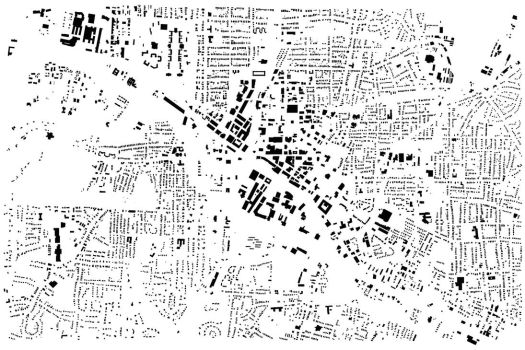 Durham NC Figure Ground by shirosynth