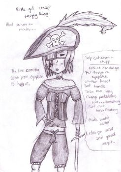 Pirate Girl concept by twisted-bunnies