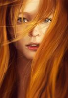 Orange - Portrait Study by minnhsg