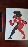 Garnet by axolotlsketches