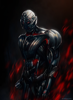 ULTRON Avengers Age of Ultron by SUPERsaeJANG