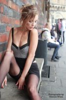 With Anna in the city 6 by PhotographyThomasKru